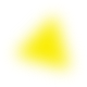 yellow rotating triangle